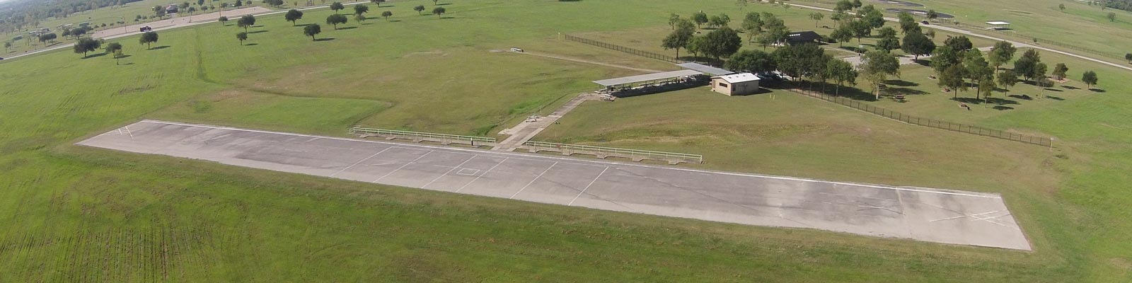 Aerial View of Dick Scobee Memorial Airfield