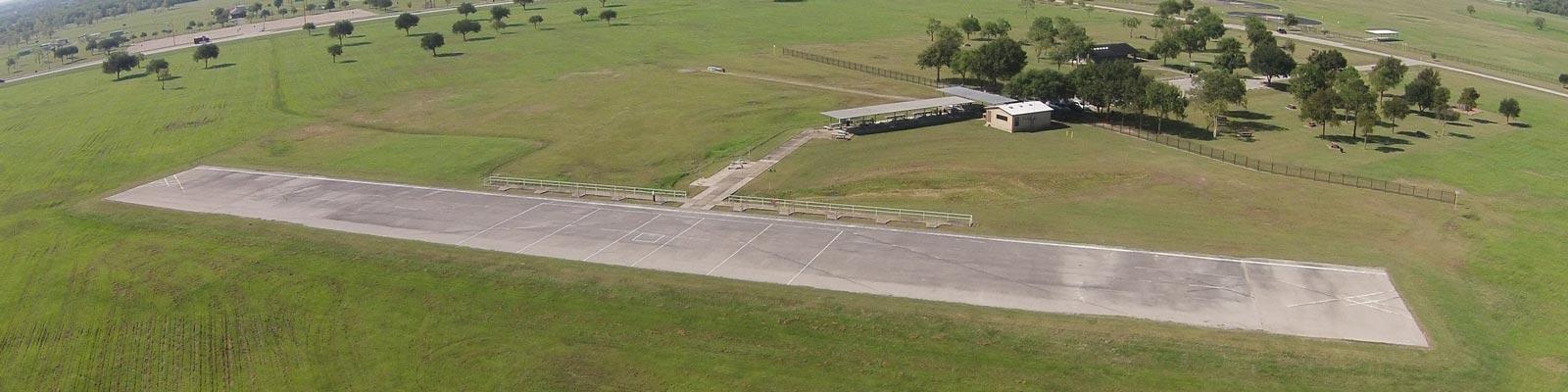 Aerial View of Dick Scobee Memorial Airfield